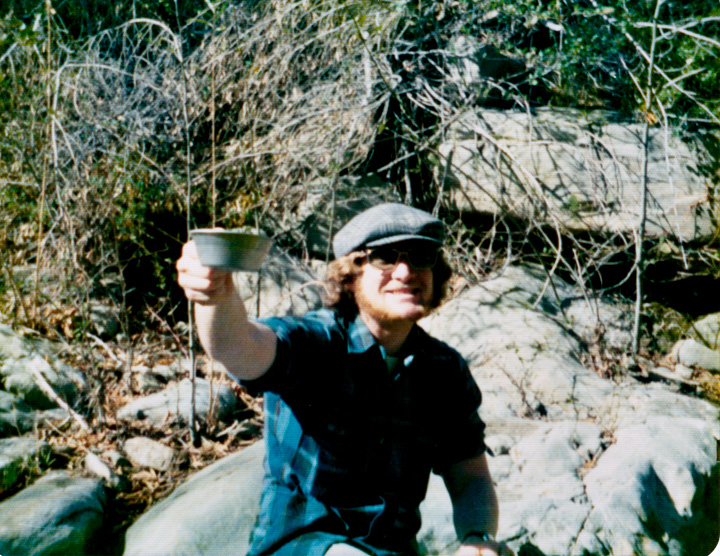 Sierra club cup, North Fork Matilija Creek, 1974