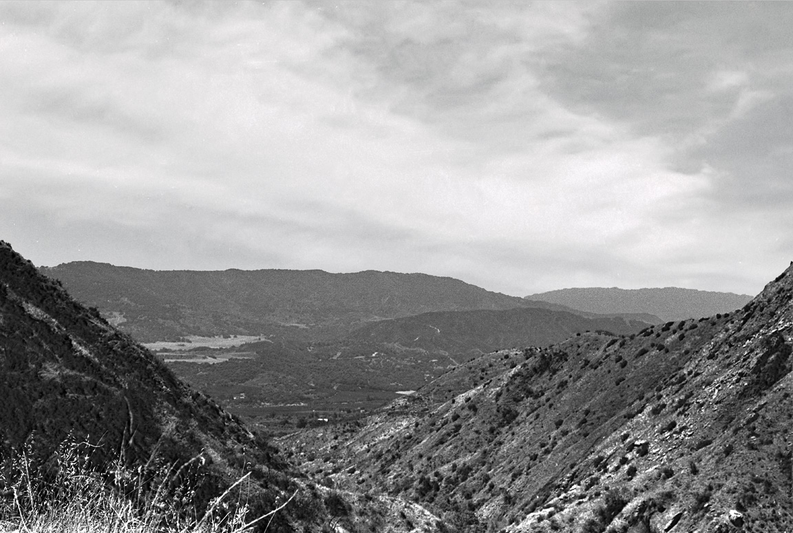 Horn Canyon and the Ojai Valley, 1978