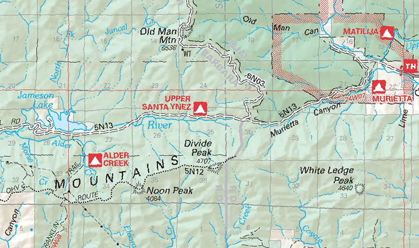The 2008 Forest Service visitor's map